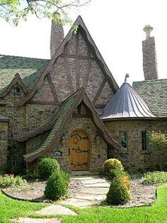 Enchanting Storybook Custom Built Home