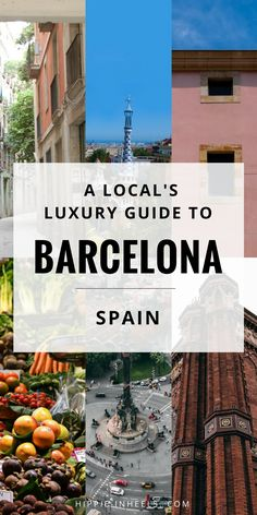 You'll LOVE this luxury travel guide to Barcelona, Spain. I got all the tips and advice on where to stay, what to see, and things to do in Barcelona.