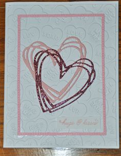 Stampin Up Swirly Scribbles Die