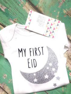 'My First Eid' Onesie from Kaamilah Online