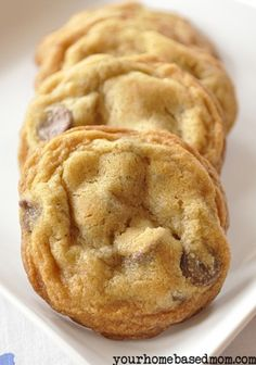 Chocolate Chip recipe...looks like it's a must try!  I'll have to put this in the big pile of recipes to try.