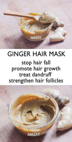 GINGER HAIR MASK FOR HAIR FALL AND THINNING HAIR Hair fall and breakage is the main cause for hair thinning. Factors like stress, using a lot of commercial hair products, lack of hair care, heat treatments etc. can make your hair thinner gradually. Pelo Natural, Natural Hair Care, Natural Hair Styles, Natural Skin, Diy Hair Mask, Afro Hair Mask, Hair Masks Homemade, Helmet Hair, Hair Care Tips