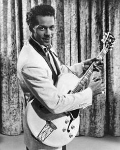 """Hail, Hail...hottie HoFer Chuck Berry, rock 'n' roll pioneer, dead at age 90 - CNN.com. Chuck Berry IS Rock 'n' Roll. Without him, the genre would not have happened. Handsome, appropriately dressed for performances--and a music genius, he was the ORIGINAL rocker. Today, the music died. RIP #Respect The NY Times lists """"15 Essential Songs"""": https://myriad.ms/2nR8HNp"""