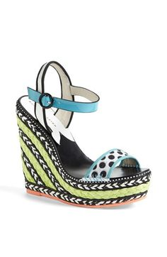 Sophia Webster High Wedge Sandal available at #Nordstrom