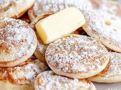 "Poffertjes ""wie vom Jahrmarkt"" Recipe Poffertjes ""The originals"" by Flensburger Jung – recipe in the category Baking sweet Dutch Recipes, Baking Recipes, Sweet Recipes, Cookie Recipes, Yummy Pancake Recipe, Yummy Food, Tasty, Pancake Recipes, Fudge Caramel"