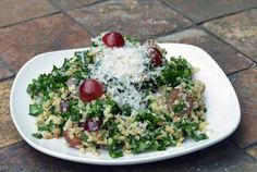 Kale Quinoa Salad ~ Cheesecake Factory Only thing I see missing is the red peppers thinly sliced...J
