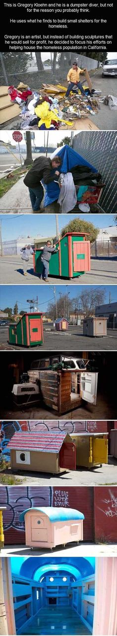 One Man's Fight To Give Homes To The Homeless - 13 Pics