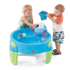 Step2 Arctic Splash Water Table. 18 months up. Children can explore glacier mountain complete with ice slide, tunnel, and dumping bucket!