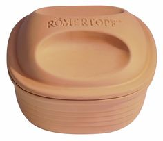 Romertopf 99155 Glazed Clay Cooker, Square Casserole *** Details can be found by clicking on the image.
