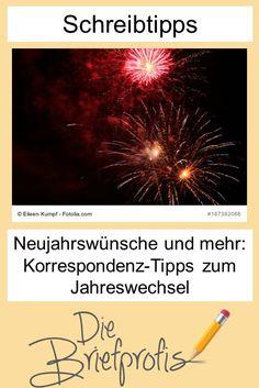 Neujahrswünsche und mehr: Korrespondenz-Tipps zum Jahreswechsel #büro #korrespondenz #mustertexte Content Marketing, Windows, Words, Blog, Movie Posters, Writing Tips, Helpful Tips, Communication, Tips And Tricks