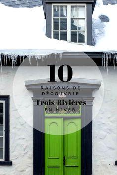 Voici 10 raisons de visiter la charmante ville de Trois-Rivières au Québec! #Québec #Canada Quebec Montreal, Quebec City, Ontario, Toronto, Trois Rivieres, Travel And Tourism, The Neighbourhood, Voici, Vacation