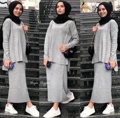 Trendy Dress Hijab Style 52 Ideas Trendy Dress Hijab Style 52 Ideas The post Trendy Dress Hijab Style 52 Ideas appeared first on Mode Frauen. Modern Hijab Fashion, Hijab Fashion Inspiration, Muslim Fashion, Modest Fashion, Abaya Fashion, Vintage Formal Dresses, Trendy Dresses, Nice Dresses, Casual Hijab Outfit