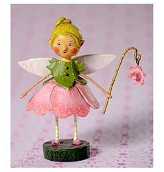 NEW Home Halloween Decoration Lori Mitchell Sweet Pea Fairy - New 2015…