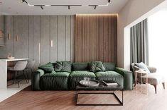 Interior Design Services, Modern Interior Design, Interior Design Living Room, Living Room Designs, Wood Slat Wall, Wood Slats, Design 3d, House Design, Design Model