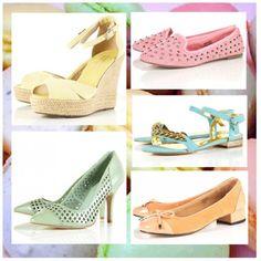 scarpe colori pastello topshop
