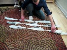 Make Rope from Plastic Bags (without tools) Just keep watching the video- it is cool!