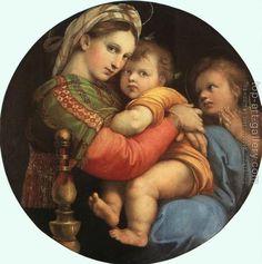 Raphael : Madonna della Seggiola