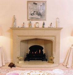 stone fireplace mantels | Natural Stone Fireplaces & Fireplace Surrounds, Somerset
