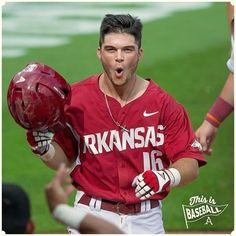 Arkansas Razorbacks Baseball, Andrew Benintendi, Hot Guys, Hot Men, Boston Celtics, Baseball Players, Boston Red Sox, Boys Who, Biceps