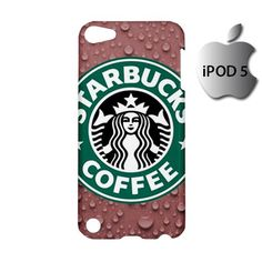 Starbucks Coffee Logo iPod 5 5g 5th Touch Case Cover