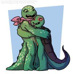 Irrillia and Kiba TMNT