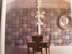 wallpaper design by wall and deco via Spazio Casa