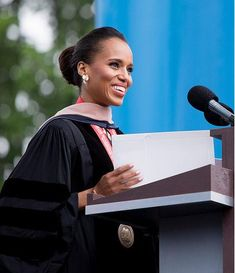 Kerry Washington Inspires in Commencement Speech to Graduates at George Washington University  http://www.blackchristiannews.com/news/2013/05/kerry-washington-inspires-in-commencement-speech-to-graduates-at-george-washington-university.html