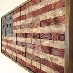 Reclaimed Wood Projects, Scrap Wood Projects, Wood Projects That Sell, Scrap Wood Art, Easy Small Wood Projects, Repurposed Wood, Reclaimed Barn Wood, Into The Woods, Large American Flag