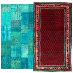 #Patchwork, #recoulered en #Perzisch; alle #tapijten en #vloerkleden komen voorbij!