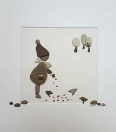 Erstes Bild in 2018 #kiesel_und_kunst #kieselkunst #pebblesart#artwork #art#steinchenkunst#kunstwerk#feedingtime #birdsfeeding #birds #vögelimwinter#pudelmütze#winter#foodforthebirds#snow#2018#neu#new