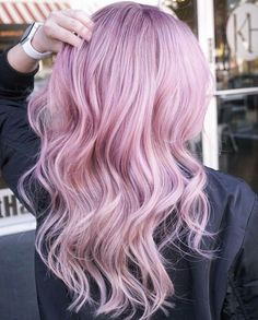 A new season is the perfect time to shake things up by refreshing your hair color. Pink Ombre Hair, Lilac Hair, Pastel Hair, Color Fantasia, Hair Colorist, Haircolor, Girl Haircuts, Mermaid Hair, Stylish Hair