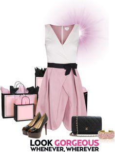 """""""look gorgeous :D"""" by therese-muriqi ❤ liked on Polyvore"""