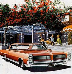 1964 Pontiac Bonneville Sports Coupe - 'Bermuda House': Art Fitzpatrick and Van Kaufman