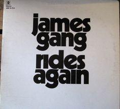 James Gang Rides Again Vinyl Record Lp Ex Joe Walsh The Eagles Flying Burrito Brothers Gram Parsons
