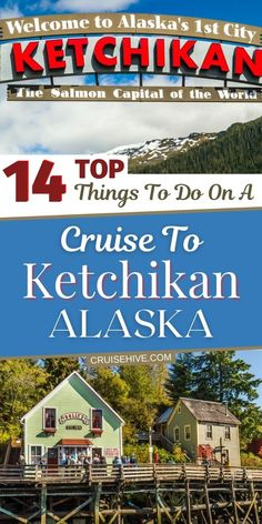 Travel tips for Ketchikan, Alaska with all the things to do when visiting during a cruise vacation. With tours and ways to enjoy the Salmon capital of the world! #ketchikan #traveltips #alaska Top Cruise, Best Cruise, Cruise Port, Cruise Travel, Cruise Vacation, Cruise Excursions, Cruise Destinations, Alaska Cruise Tips, Ketchikan Alaska