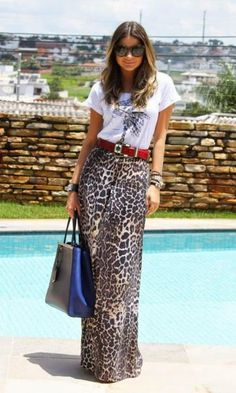 Look: Thassia Naves - Animal Print