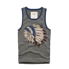 Cheap Abercrombie & Fitch Cotton Vest Mens AFC1082  http://abercrombie-sale.net/