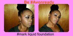 Check out this stunning beauty! This fellow Avon Rep shared her at-home makeover using Avon and mark skin care and makeup products.  #mark #bethroyavonrep