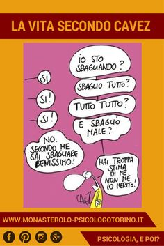 La vita secondo #Cavez: Saper sbagliare benissimo. Mood, Funny, Cactus, Snoopy, Cartoon, Thoughts, Pulley, Te Amo, Humor