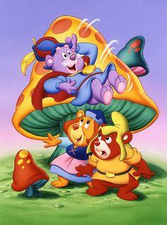 Disney's Adventures of the Gummi Bears First Animation, Walt Disney Animation, Disney S, Disney Love, Chibi Disney, Drawing Cartoon Characters, Disney Characters, Cartoon Drawings, Bear Cartoon