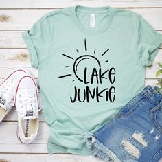 Boat Shirts, Vinyl Shirts, Cute Shirts, Custom T Shirts, Women's Shirts, Custom Vinyl, Cute Shirt Designs, Design T Shirt, Creative T Shirt Design