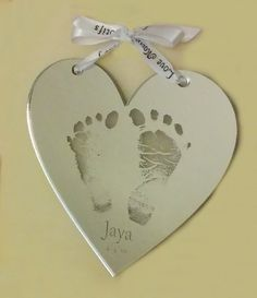 Acrylic Mirror Heart - Our latest keepsake - Great for Valentine's Day or any other occasion!