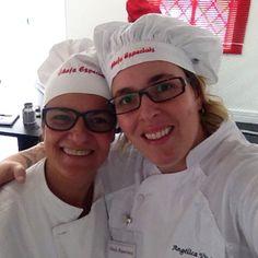 Com a Chef Angelica Vitale... www.carlafalconi.com.br