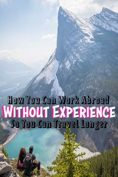 How to find paid work abroad without experience so you can travel longer. You may even possess a skill that's needed abroad and don't even know it! Cheap Places To Travel, Ways To Travel, Travel Tips, Travel Guides, Travel Deals, Budget Travel, Travel Destinations, Work Overseas, International Jobs
