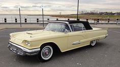 1959 Ford Thunderbird Convertible Automatic, Factory Air Conditioning presented as lot L145 at Kissimmee, FL 2015 - image1