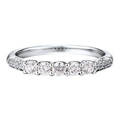 1 ct. tw. Diamond Band in 14K White Gold - 2284526 - Helzberg Diamonds