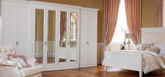 Our Palladian range of Fitted Wardrobes | Hammonds Furniture