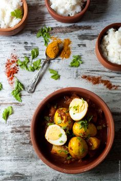 A leftover-egg post, since it's the week after Easter! What could be better than an exotic, spicy vegetarian egg curry? Making it in the slow cooker means it's completely effortless. Because who can be bothered to cook after all that Easter food?