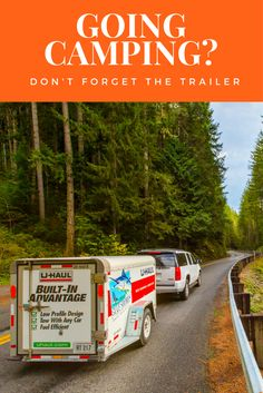 Trailers will help you fit everything you need to bring on your camping trip. Find out what the best trailers are based on what you are bringing. Car Fuel, Best Trailers, Packing To Move, Profile Design, Camping Tips, Renta, Campsite, Transportation, How To Find Out