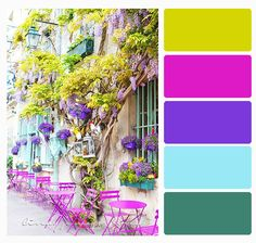 Color Palette bright